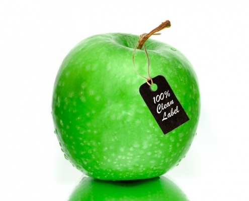 BIOGRUND - Apple with 100% clean labelling. Fillmcoating excellence.