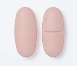 two pink tablets - logo bridging