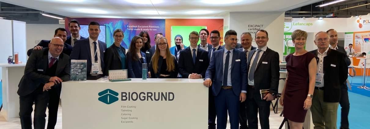 BIOGRUND at CPhI 2019