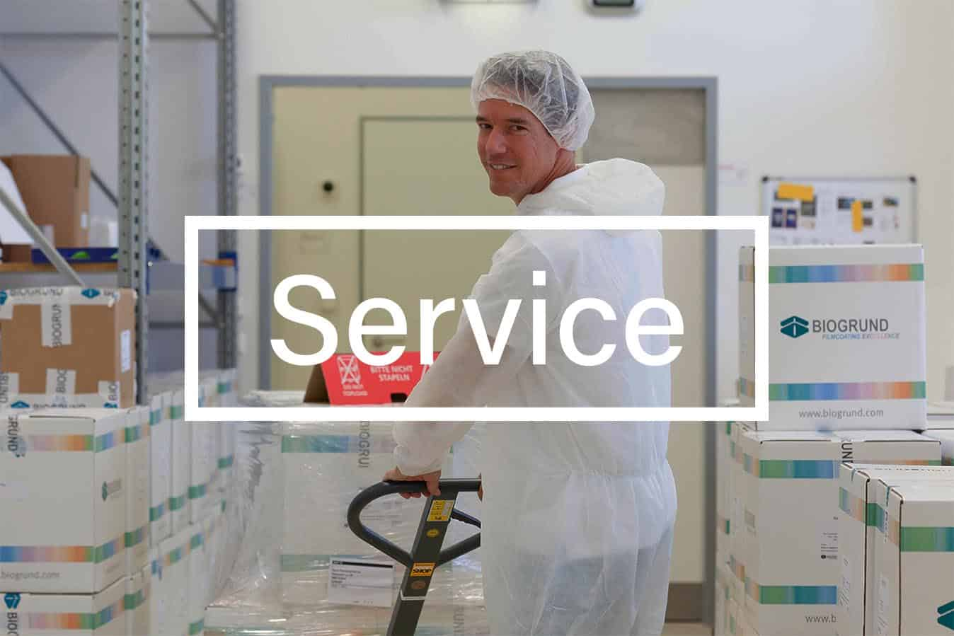 Service of BIOGRUND
